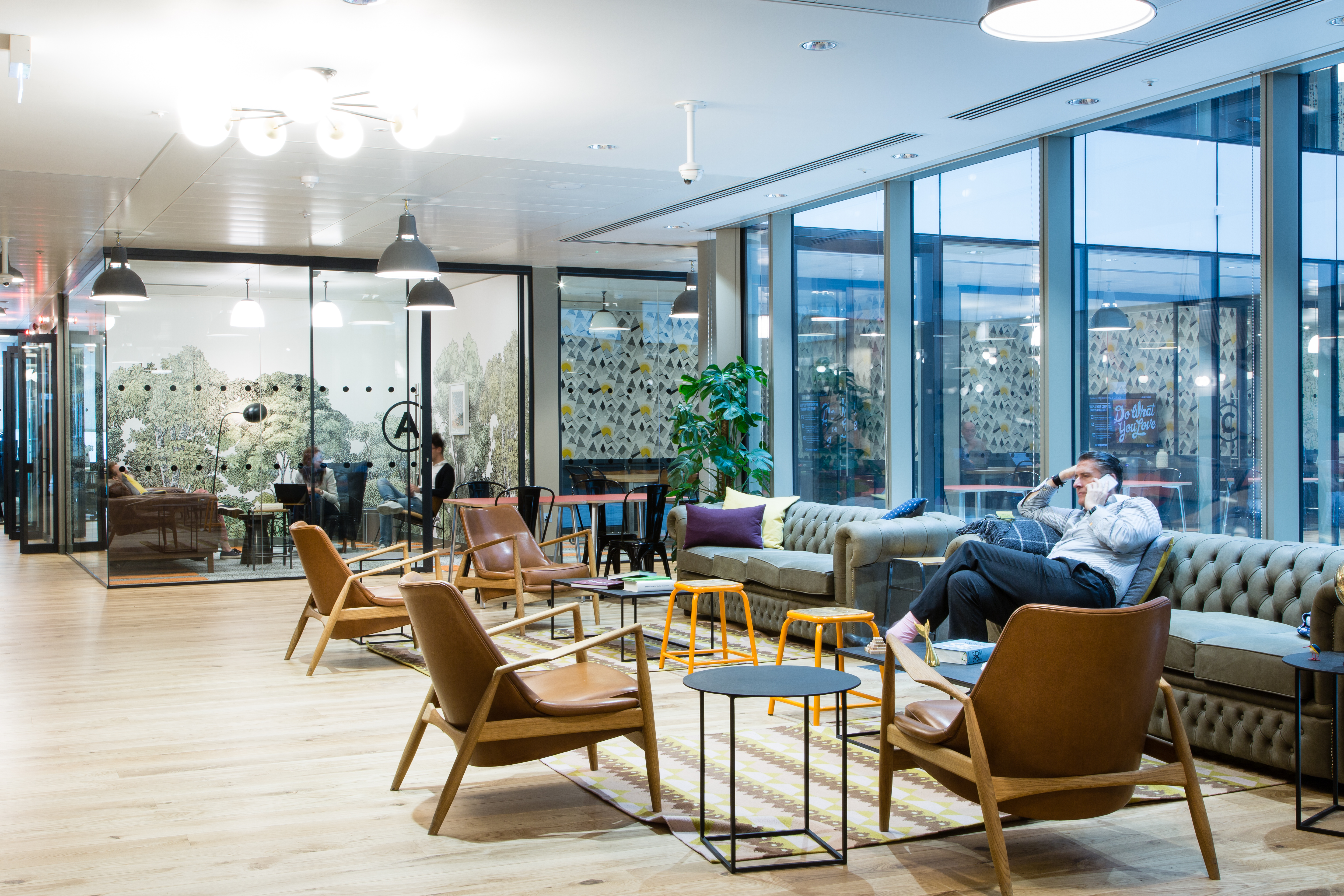 exciting office design trends for 2016 strategy hat